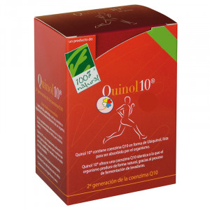 QUINOL10 100Mg. 90 CAPSULAS 100% NATURAL