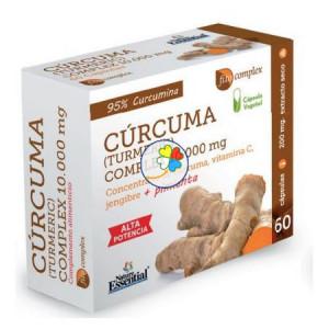 CURCUMA 10.000Mg. 60 CAPSULAS NATURE ESSENTIAL