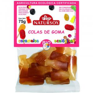 COLAS DE GOMA 75Gr. NATURSOY