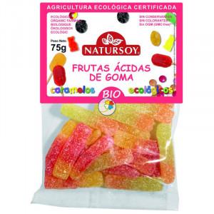 FRUTAS ACIDAS DE GOMA 75Gr. NATURSOY