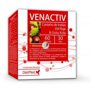 VENACTIV 60 CAPSULAS DIETMED