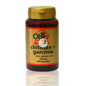 CHITOSAN + GARCINIA 450Mg. 100 CAPSULAS OBIRE