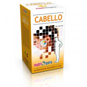 CABELLO 60 CAPSULAS NUTRIORGANS