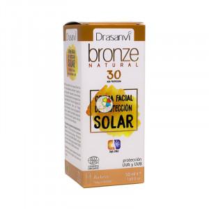 CREMA SOLAR PROTECCION 30 BRONZE DRASANVI