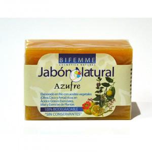 JABON AZUFRE 100Gr. BIFEMME