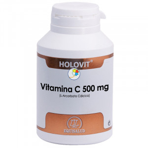 HOLOVIT VITAMINA C 500Mg. 180 CAPSULAS EQUISALUD