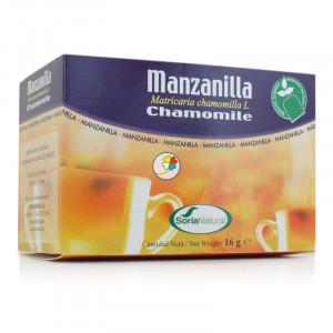 INFUSION MANZANILLA 20 FILTROS SORIA NATURAL