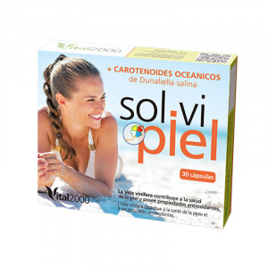 SOL-VI-PIEL 30 CAPSULAS VITAL 2000