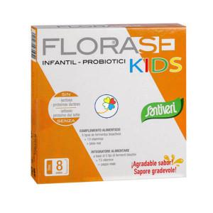 FLORASE KIDS 8 VIALES DE 10Ml. SANTIVERI