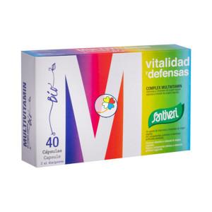VITAMINAS BIO COMPLEX MULTIVIT 40 CAPSULAS SANTIVERI
