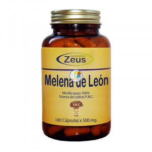 MELENA DE LEON 500Mg. 180 CAPSULAS ZEUS