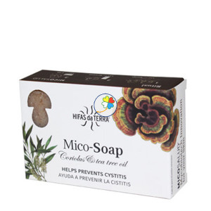 MICO-SOAP CORIOLUS & TEA TREE OIL 2x75Gr. HIFAS DA TERRA