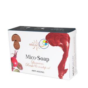 MICO-SOAP LUXURIOUS REISHI & ROSEHIP OIL 2x75Gr. HIFAS DA TERRA