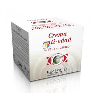 CREMA ANTI-EDAD BABA CARACOL 50Ml. EDELWEISS