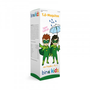 BINA KIDS TS MOQUITOS 150Ml.