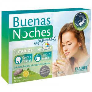 BUENAS NOCHES INFUSIONABLE 30 COMPRIMIDOS ELADIET