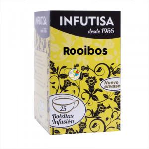 INFUSION TE ROOIBOS  25 FILTROS INFUTISA