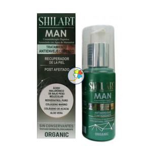 EMULSION FACIAL SHILART MAN 120Ml. SHILART