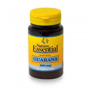 GUARANA 600Mg. 50 CAPSULAS NATURE ESSENTIAL