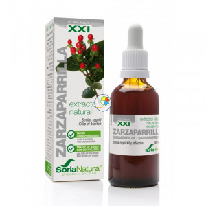 EXTRACTO DE ZARZAPARRILLA FORMULA XXI 50Ml. SORIA NATURAL