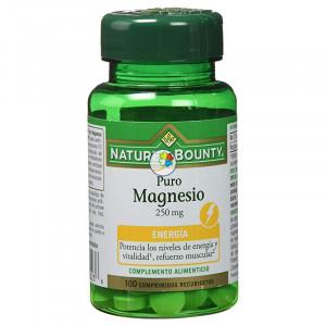 MAGNESIO 250Mg. 100 COMPRIMIDOS NATURES BOUNTY