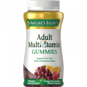 MULTIVITAMINICO ADULTOS 60 GUMMIES NATURES BOUNTY