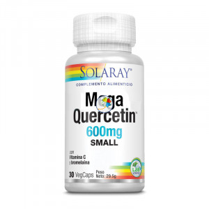 SMALL MEGA QUERCITIN 600Mg. 30 CAPSULAS VEGETALES SOLARAY