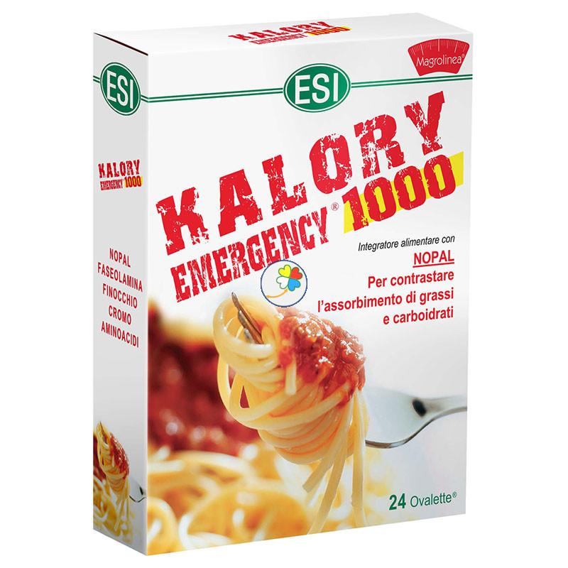 KALORY EMERGENCY 1000 24 TABLETAS ESI