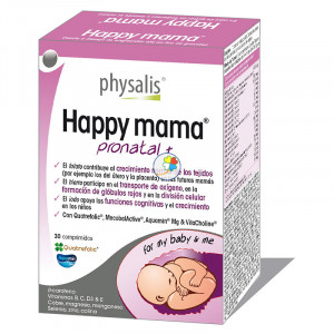 HAPPY MAMA PRONATAL 45 CAPSULAS PHYSALIS