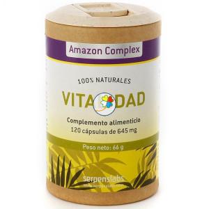 AMAZON COMPLEX VITALIDAD 120 CAPSULAS SERPENS