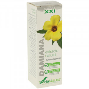 EXTRACTO DE DAMIANA XXI 50Ml. SORIA NATURAL
