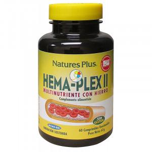HEMA-PLEX II 60 COMPRIMIDOS NATURE´S PLUS