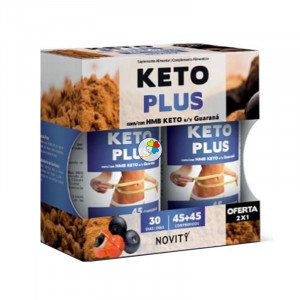 KETO PLUS 45 + 45 COMPRIMIDOS NOVITY