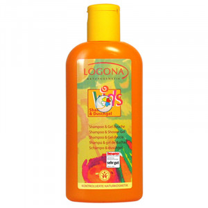 GEL DUCHA & CHAMPU KIDS 200Ml. LOGONA