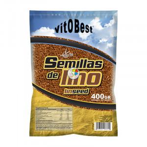 SEMILLAS DE LINO BOLSA 400Gr. VIT.O.BEST
