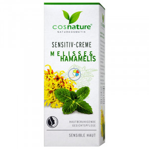 CREMA SENSITIVE MELISA Y HAMAMELIS 50Ml. COSNATURE