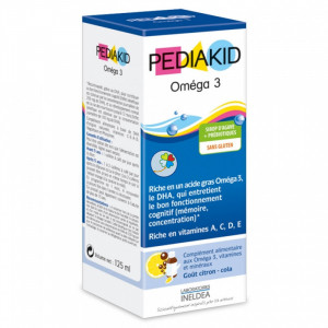 PEDIAKID OMEGA 3 125Ml. INELDEA