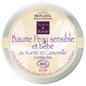 BALSAMO PIEL SENSIBLE Y BEBE DE KARITE 35Ml. BIOFLORAL