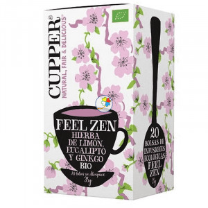 INFUSION FEEL ZEN BIO 20 BOLSAS CUPPER