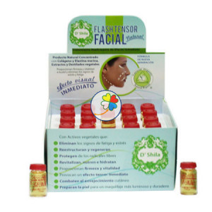 FLASH TENSOR FACIAL 10Ml. SHILA