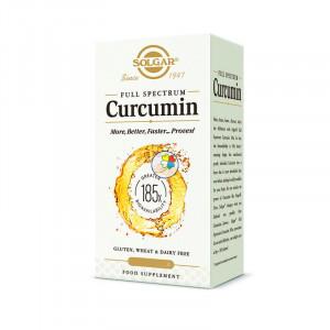 FULL SPECTRUM CURCUMINA 185x 30 CAPSULAS SOLGAR