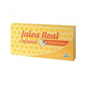 JALEA REAL INFANTIL 10 AMPOLLAS DE PLASTICO DE 10Ml. SOTYA