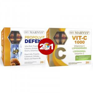 2X1 PROPOLVIT DEFENS Y VITAMINA C MARNYS