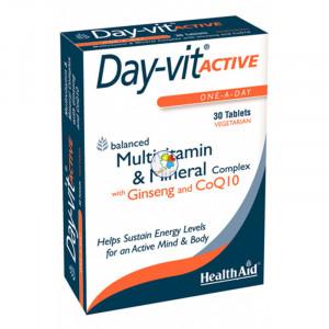 DAY-VIT ACTIVE 30 COMPRIMIDOS HEALTH AID