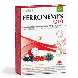 FERRONEMIS Q10 20 AMPOLLAS INTERSA