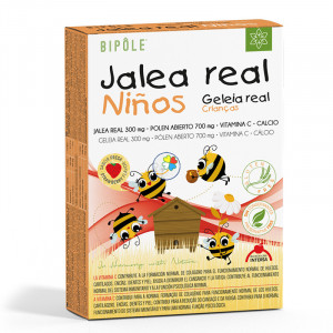 JALEA REAL NIÑOS 20 AMPOLLAS INTERSA