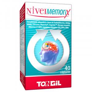 NIVELMEMORIX 40 CAPSULAS TONGIL