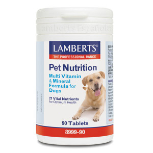 PET NUTRITION (MULTIVIT. Y MINERALES PARA PERROS) 90 TABLETAS LAMBERTS