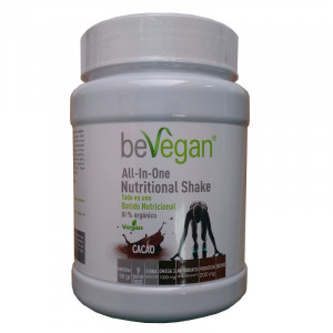 ALL IN ONE NUTRICIONAL SHAKE CACAO 600Gr. BEVEGAN