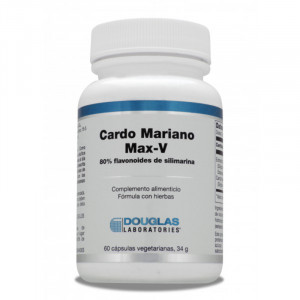CARDO MARIANO MAX-V (60 CAPSULAS VEGETARIANAS) DOUGLAS